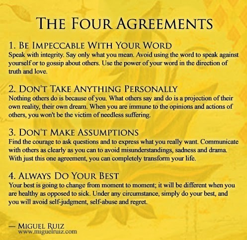 The Four Agreements A Caravan Of One